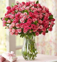 Mother's Day Spray Roses + Free Vase