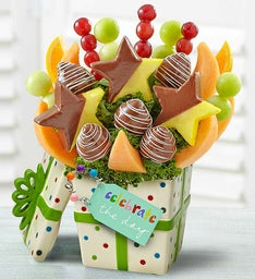"""Celebrate the Day"" Fruit Arrangement"