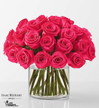 Hot Pink - Rose Bouquet by Isaac Mizrahi
