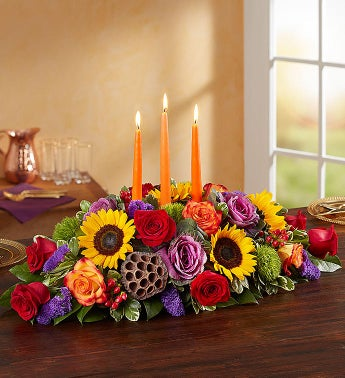 Garden Of Grandeur™ For Fall Centerpiece
