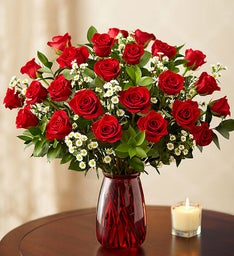 Premium Roses for Valentine's Day, 12-24 Stems