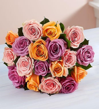 Sorbet Roses 18 Stems, Bouquet Only