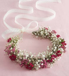 Fresh Flower Floral Crown