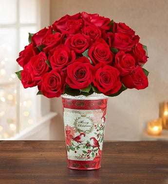 Merry Red Roses, Buy 12, Get 1...