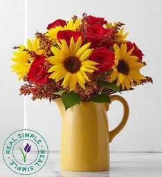 Sunflower Mixed Bouquet by Real Simple®