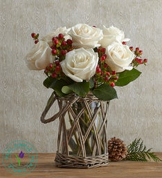 Happy Holiday Bouquet by Real Simple®