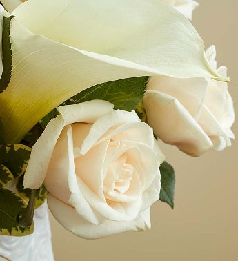 White rose calla lily bouquet sympathy 1800flowers 147703altview2 mightylinksfo