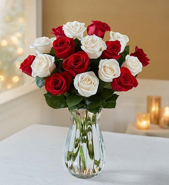18 Peppermint Roses