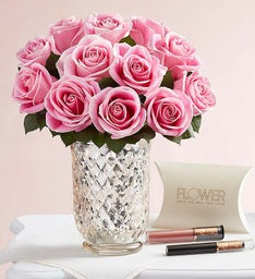 Blush & Bloom by FLOWER + Free Lip Makeup Set