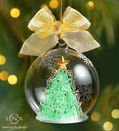 Lenox® Majestic Holiday Tree Wonderball Ornament