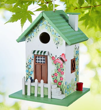 Butterfly Cottage Birdhouse