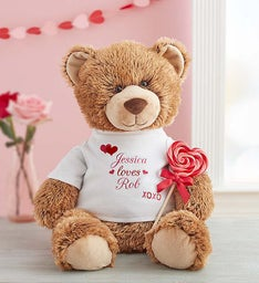 "Personalized Tommy Teddy ""With Love"""