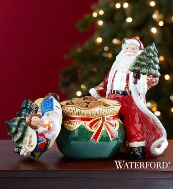 Waterford® Santa's Delivery Cookie Jar