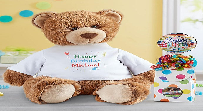 Personalized Stuffed Animals Bears 1800flowers Com