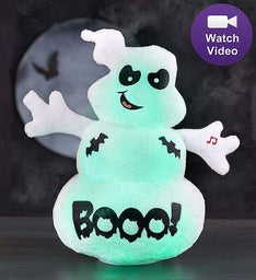 """SPOOK"" the Ghost Animated Plush"