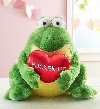 'Toad-ally' Yours Pucker Up Frog