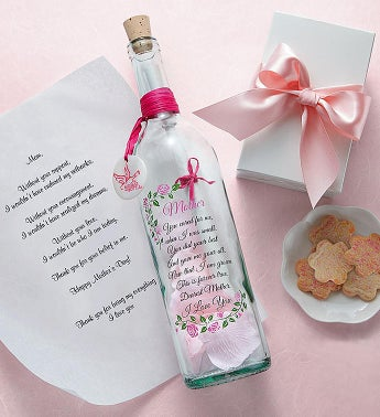 Personalized Message In A Bottle ®-Mom or Grandma