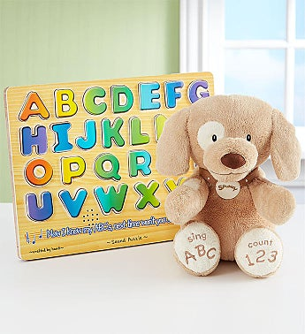 Animated 'ABC Spunky' Learning Gift Set