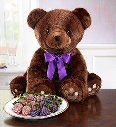 Sable Bear & Chocolate Berries for Mother's Day