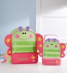 Personalized Butterfly Backpack & Lunchbox