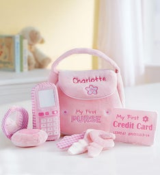 Personalized GUND® Purse Playset