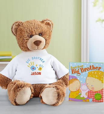 Personalized Tommy Teddy Big Brother Celebration