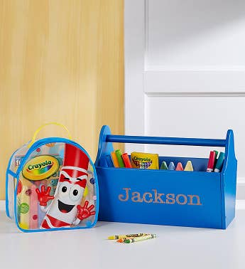 Personalized Toy Caddy Gift Set
