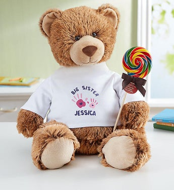 "Personalized Tommy Teddy ""Big Sister"""
