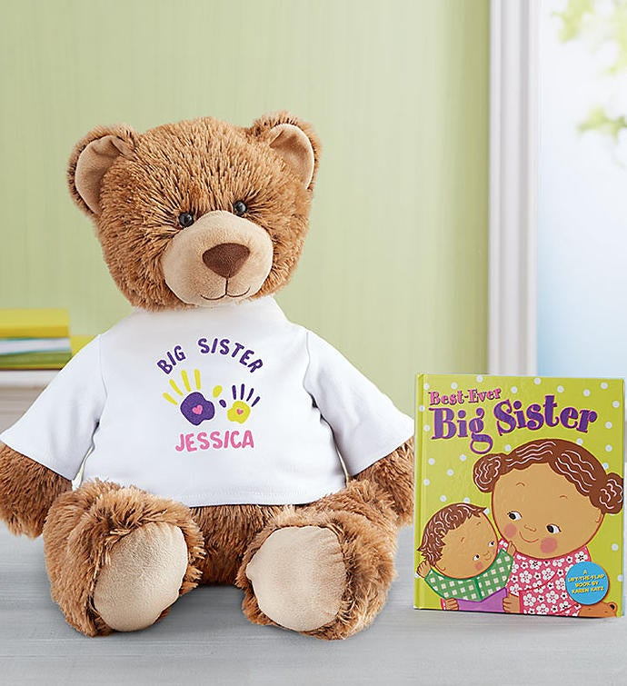 "Personalized Tommy Teddy™ ""Big Sister"" Celebration"