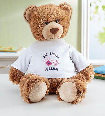 "Personalized Tommy Teddy ""Big Sister"" Personalized Tommy Teddy - Big Sister"