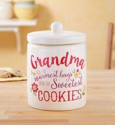 Cookie Jar for Grandma with Cheryl's Cookies