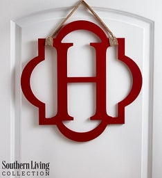 Southern Living® Personalized Initial Door Hanger