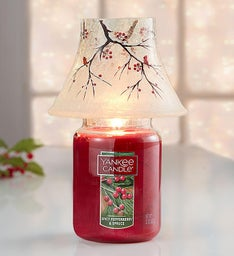 Yankee Candle® Winter Cardinal Shade and Large Jar