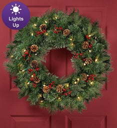 Holiday Traditions Wreath - 30