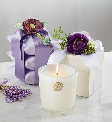 Lux® Lavender Sachet And Candle
