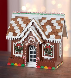 Jolly Gingerbread Birdhouse