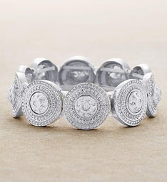 Silver Stone Bracelet by Bayberry Road