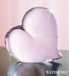 Waterford® Pink Heart