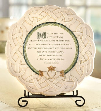 Irish Blessing Plate