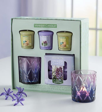 Yankee Candle Lilac Blossom Gift Set