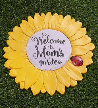 Personalized Sunflower Garden Stone