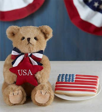 USA Bearington® Bear and Cookie