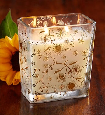 Fields of Flowers™ Sunflower Candle