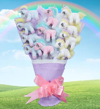 Unicorn Plush Bouquet