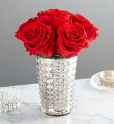 Preserved Red Roses by Luxe Bloom® - Medium