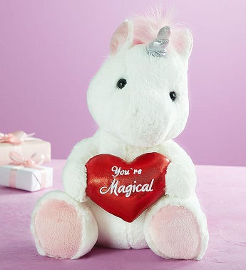 'You're Magical' Unicorn Plush