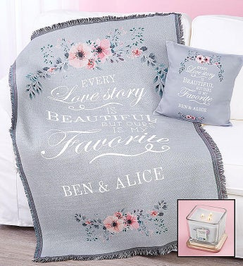 Personalized Love Story Home Dcor