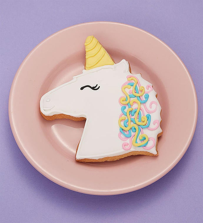 Gund Light Up Unicorn Plush with Cookie