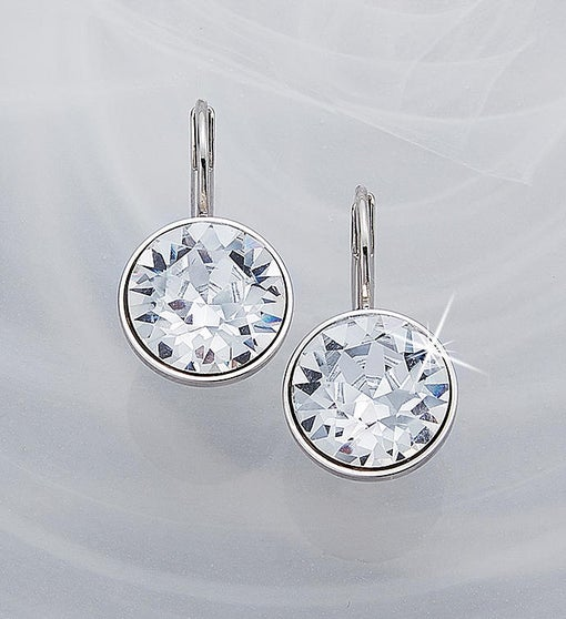 Swarovski® Mini Bella Earrings- Clear