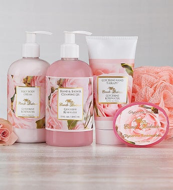 Camille Beckman® Spa Rosewater Gift Set Camille Beckman ® Spa Rosewater Gift Set